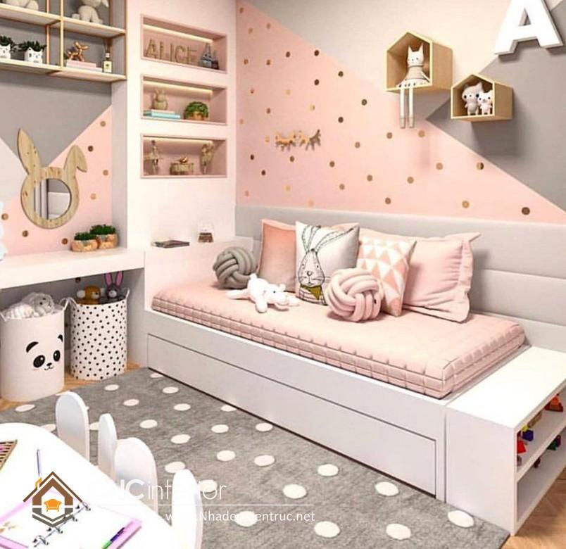 Giường ngủ kiểu công chúa CNC – H21