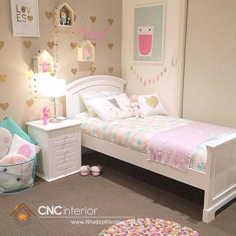 Giường ngủ kiểu công chúa CNC – H22