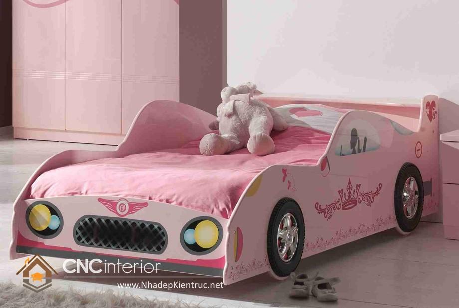 Giường ngủ kiểu công chúa CNC – H23