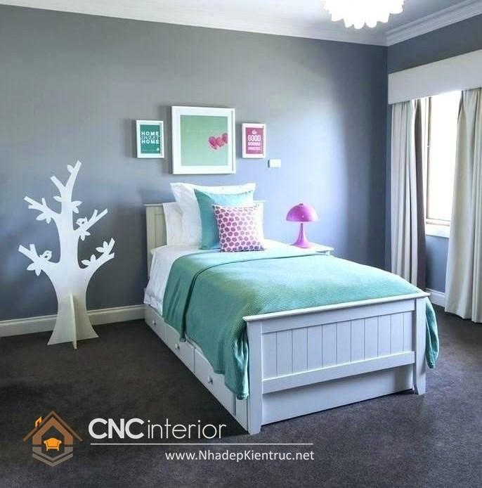 Giường ngủ kiểu công chúa CNC – H25
