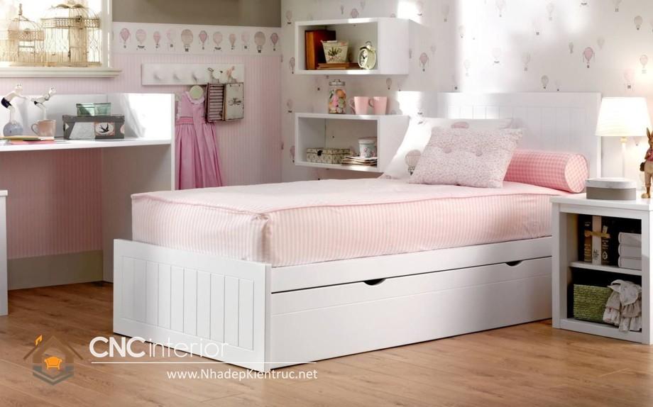 Giường ngủ kiểu công chúa CNC – H27