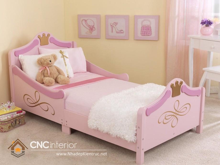 Giường ngủ kiểu công chúa CNC – H35