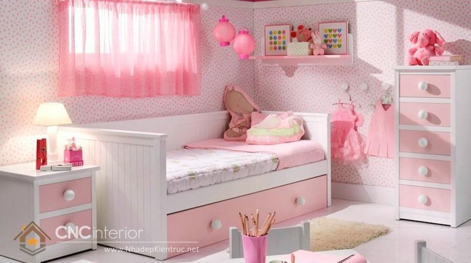 Giường ngủ kiểu công chúa CNC – H40