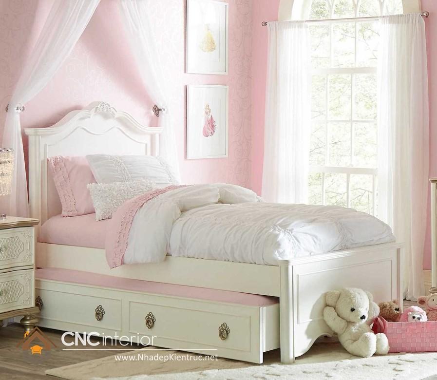 Giường ngủ kiểu công chúa CNC – H41