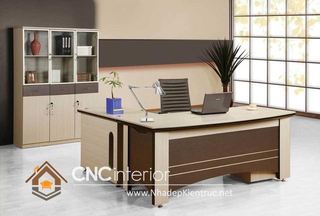 Bàn làm việc văn phòng gỗ (5)