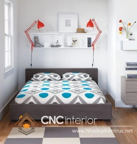 Cách trang trí phòng ngủ nhỏ đơn giản (10)