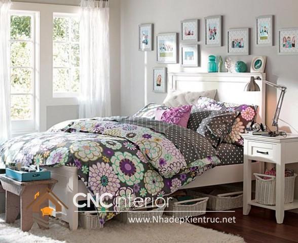 Cách trang trí phòng ngủ nhỏ đơn giản (7)