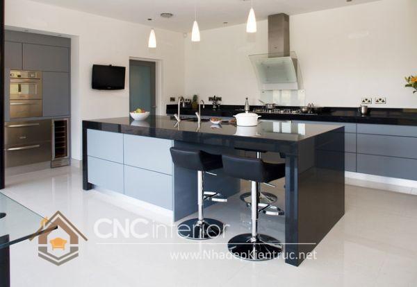 Mẫu quầy bar gia đình đẹp CNC-H 46