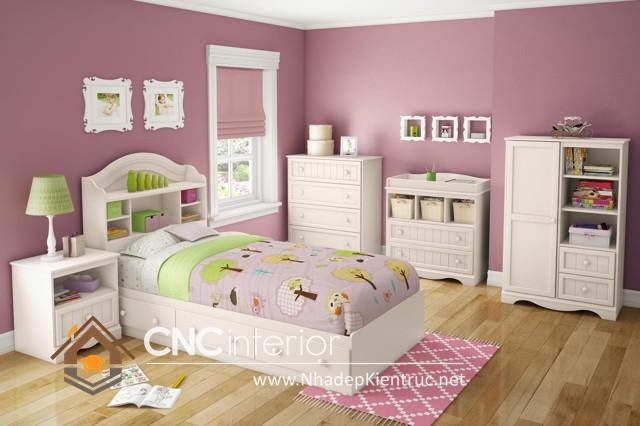 Nội thất phòng ngủ cho bé gái  (2)