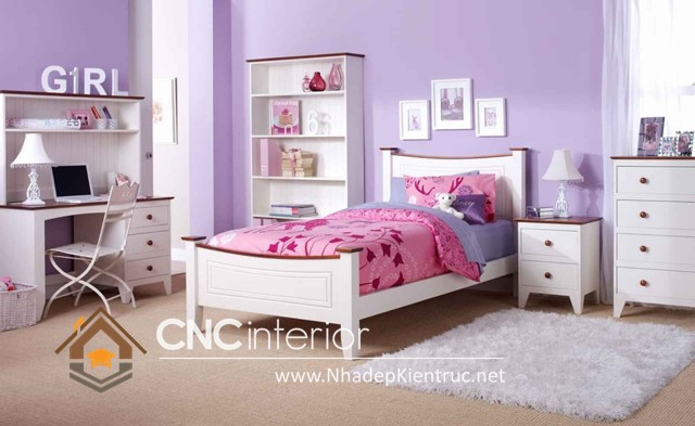 Nội thất phòng ngủ cho bé gái  (3)