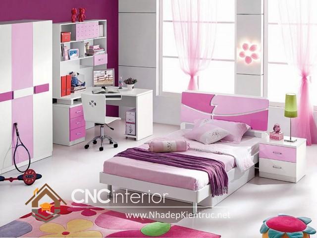 Nội thất phòng ngủ cho bé gái (4)