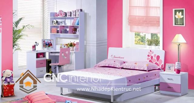 Nội thất phòng ngủ cho bé gái  (7)