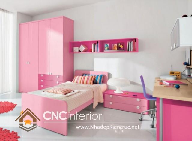 Trang trí phòng ngủ màu hồng (1)