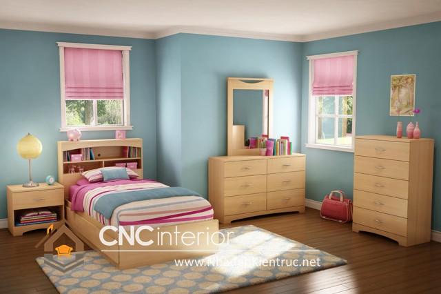 Trang trí phòng ngủ màu hồng (2)