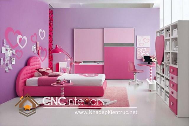 Trang trí phòng ngủ màu hồng (6)