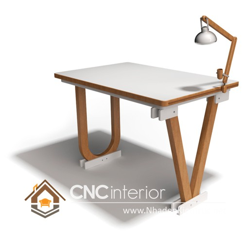 bàn làm việc kiểu dáng độc đáo (7)