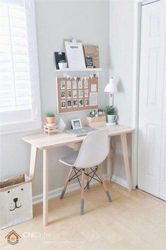 bàn làm việc nhỏ trong phòng 3