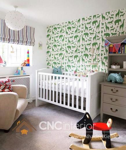 cách trang trí phòng ngủ bằng giấy dán tường (1)