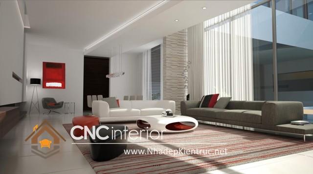 nội thất phòng khách biệt thự (3)