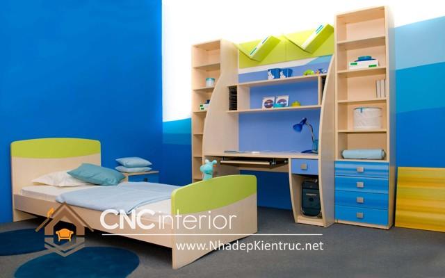 nội thất phòng ngủ trẻ em (7)