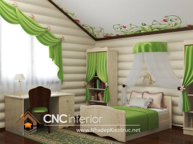 phòng ngủ cho bé yêu (2)