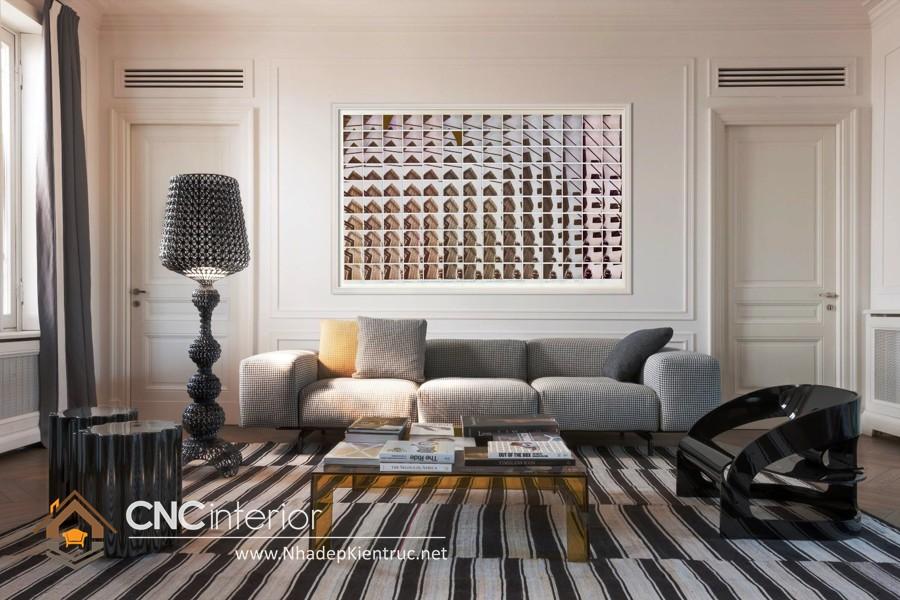 Thiết kế phòng khách chung cư (2)