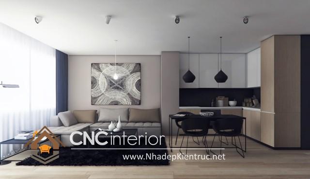 thiết kế phòng khách chung cư (7)