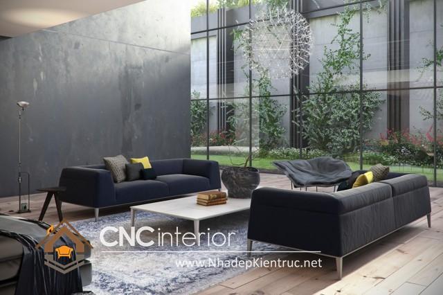 thiết kế phòng khách hiện đại (1)