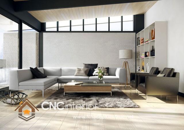 thiết kế phòng khách hiện đại (4)