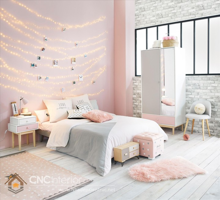 Childrens Bedroom Blinds Grey Bedroom Lighting Build In Bedroom Cupboards Victorian Bedroom Ideas: THÍCH THÚ TRONG TRANG TRÍ PHÒNG NGỦ MÀU HỒNG