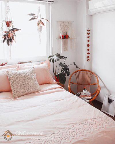 trang trí phòng ngủ màu hồng 3