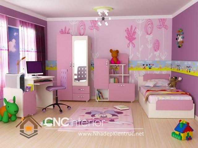 Cách trang trí phòng ngủ cho bé gái (3)