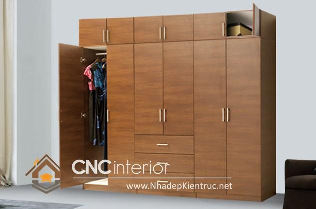 Mẫu tủ quần áo gỗ đẹp (1)