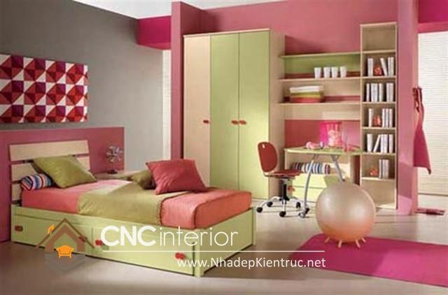 Phòng ngủ màu hồng (7)