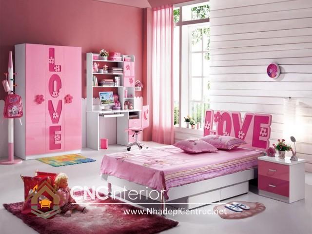Phòng ngủ màu hồng (6)