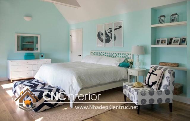 Phòng ngủ màu xanh dương (1)