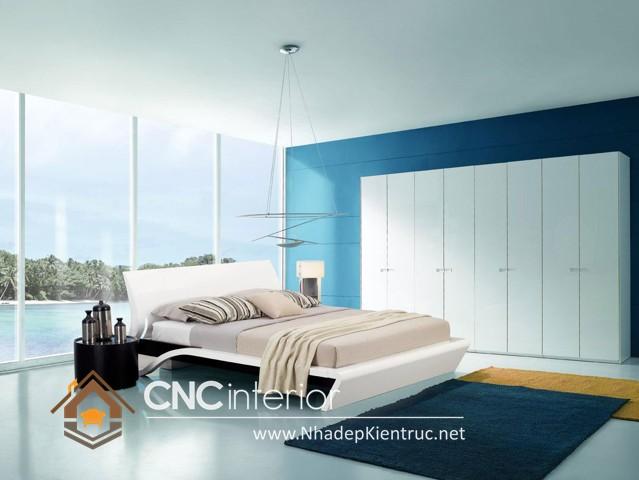 Phòng ngủ màu xanh dương (6)