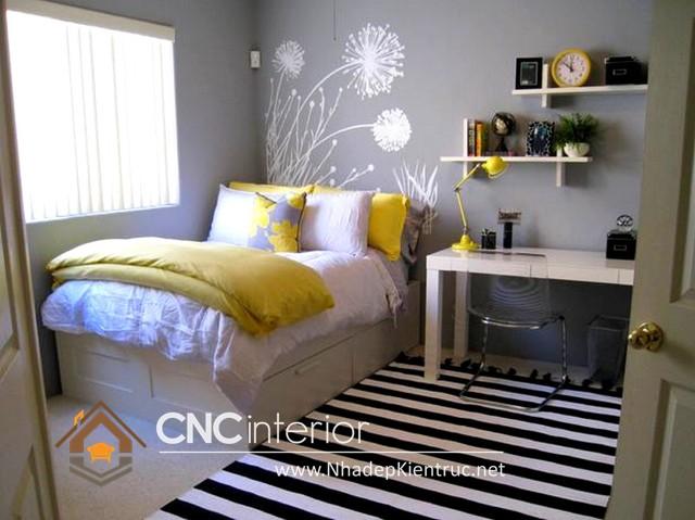 Phòng ngủ nhỏ đẹp đơn giản (2)
