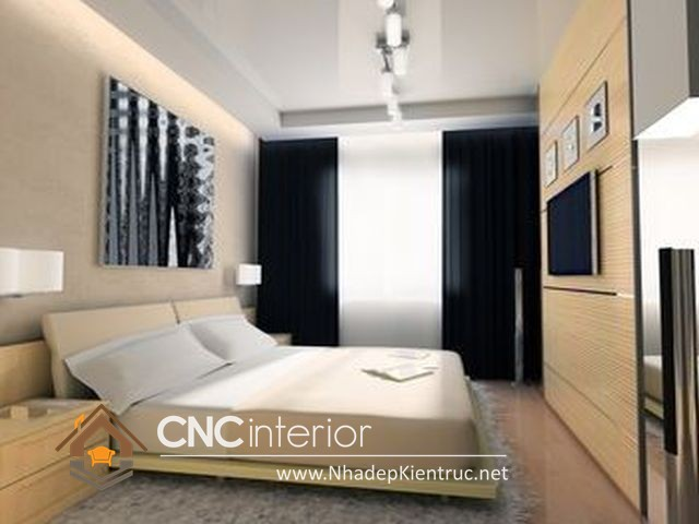 Phòng ngủ nhỏ đẹp đơn giản (6)