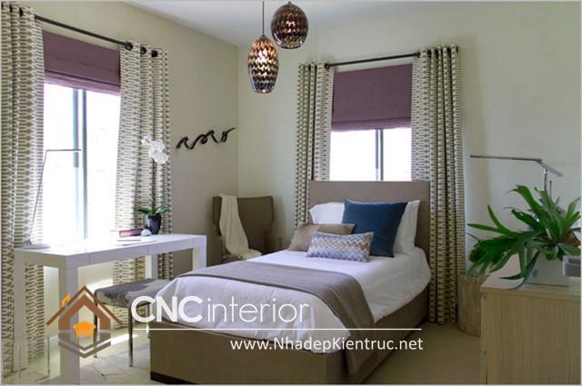 Phòng ngủ nhỏ mà vẫn đẹp (2)