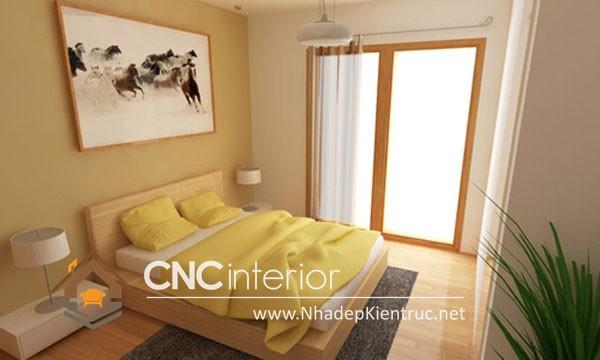 Phòng ngủ nhỏ mà vẫn đẹp (6)