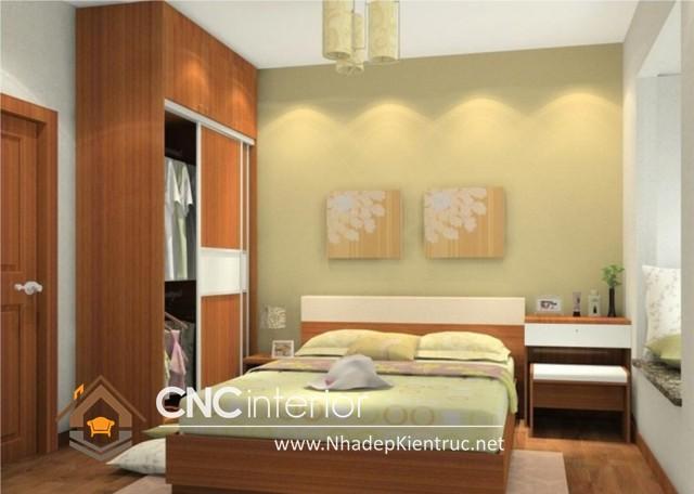 Phòng ngủ nhỏ mà vẫn đẹp (7)