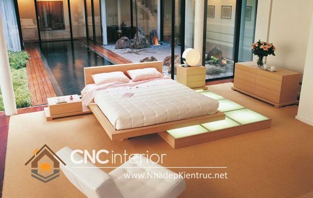 Phòng ngủ theo phong cách Nhật Bản (1)