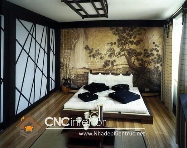 Phòng ngủ phong cách Nhật Bản (5)