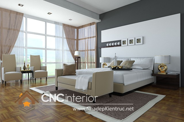 Phòng ngủ sơn màu gì (1)