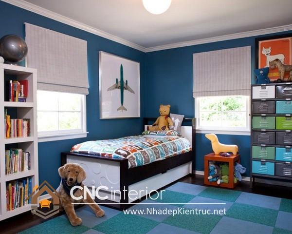Phòng ngủ trẻ em trai (4)