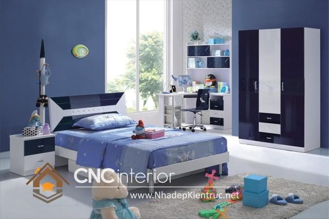 Phòng ngủ trẻ em trai (5)