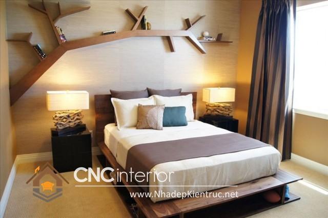 Thiết kế nội thất cho phòng ngủ diện tích nhỏ (10)
