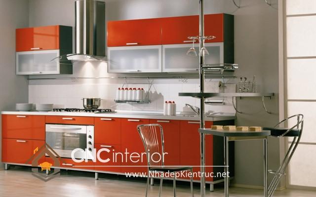 Tủ bếp hiện đại và tiện dụng(1)