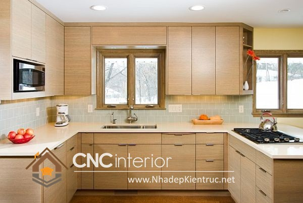 Tủ bếp hiện đai và tiện dụng(4)